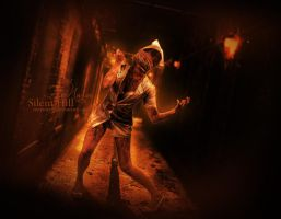 The Nurse - Silent Hill by MeemieArt