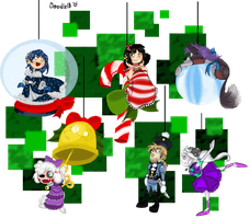 GB: Ornaments for Christmas by Doodlz18