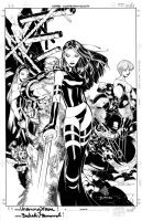 Uncanny X-Men promo cover by TimTownsend