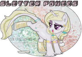 Glitter Ponies Species - (NEW VERSION) by StarChaseSketches