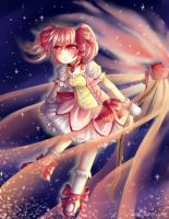 Madoka, Goddess of the World by lovebunnyXdeathkitty