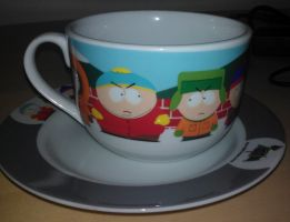 South Park Dishes by megasupermoon