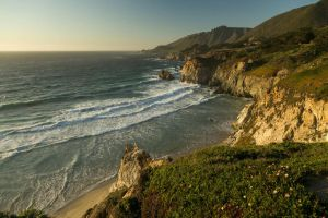 Rocky California Coastline by froggynaan