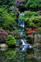 Japanese Gardens Fall by sivousplay