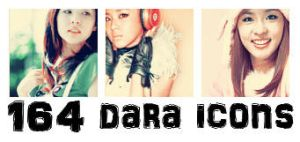 164 Dara Icons by ohmyjongwoon