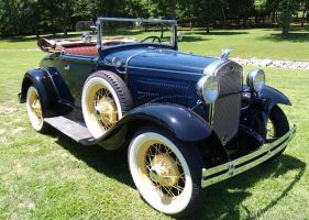 1931 Model A by texasghost