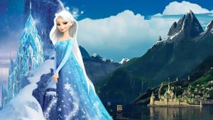 Frozen - 1920x1080 (Elsa White Hair) by CoGraphiC