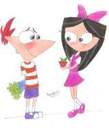 For you,Phineas. by KarolineStay34