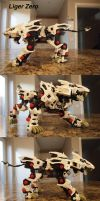 Zoids Liger Zero Stock by IrishWolven