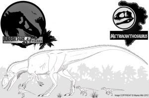 InGen Files - Metriacanthosaurus (updated) by Miyess
