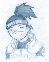 Another Iruka sketch by jamuko