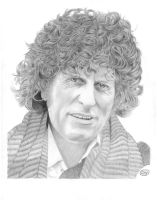 Tom Baker: The Doctor by Deathbygraphite