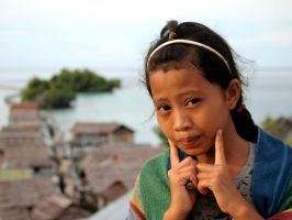Bajau Girl by ZephyraMilie