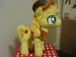 My Little Pony ~ Braeburn Plusie by fluffylovey