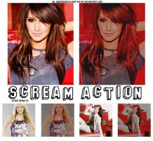 Scream action by ObsessionCelebrities