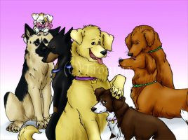Ouran dogs by Richoll