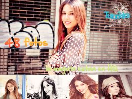 Pack de Victoria Justice by naylaeditions