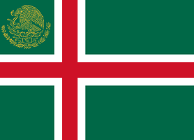Mexican Flag (Nordic Style) by LouisTheFox