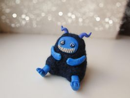 Tiny Gluttonous Monster by mar-rie