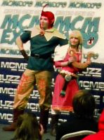 MCM Expo Masquerade Skyward Sword Groose and Zelda by Ultramarine619