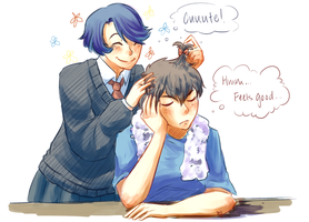 Hori + Kashima by Pidoodle