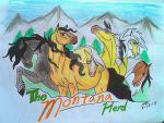 The Montana Herd Banner by WildSpeedSpirit