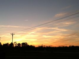 Sunsets: Feb. 18.13: 1 by annieheart12