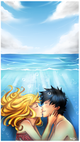 Underwater Kiss by Nataliadsw