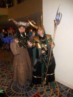 Loki and Rita Repulsa by SingleOrganicMachine