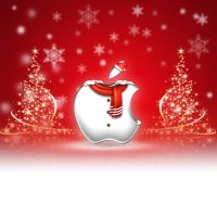 iPad Wallpaper - Christmas by LaggyDogg
