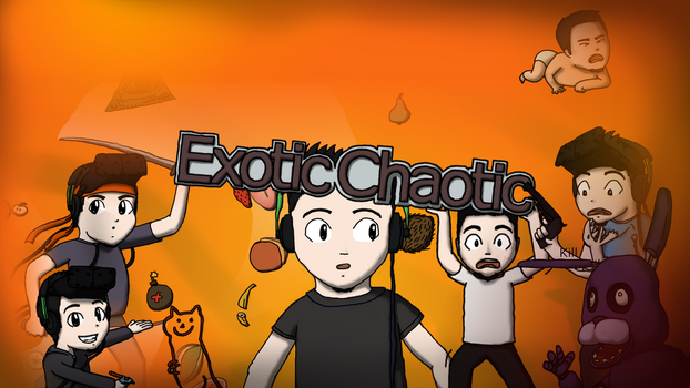 Exotic Chaotic's channel art by haras5