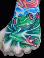 Frog by eSo7eRiC