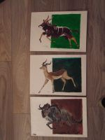 african project :  nyala , impala ,  wilderbeast by nature-wanderer