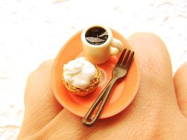 Coffee Cup Ring 2 by souzoucreations