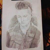 Synyster Gates-Sketch by InnocenceShiro