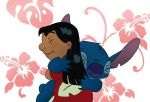 Lilo and Stitch Hug by chocolatecherry