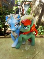Frozen Ponies..in sculpey by carlotta-guidicelli