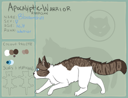 AW | Blossomdrift | RiverClan | Warrior by pvpsi