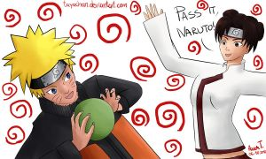 Life Is Just A Game Naruto And Tenten by attisalatti