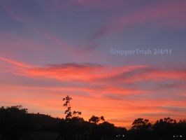 Sunset Feb. 4, 2011 by ShipperTrish
