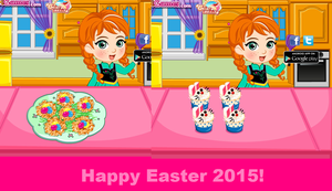 Happy Easter from Princess Anna. by Smurfette123