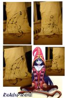 Lulu from League of Legends hat WIP 1 by RaiAsInParadise