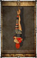 Bowie Tarot Collection - XII - The Hanged Man by Triever