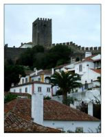 Obidos View I by FilipaGrilo