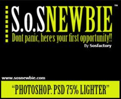 PSD 75 percent lighter by SOSFactory
