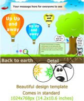 Beautiful design template by Umbot