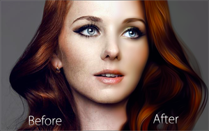Lena Katina Before and After by iTomix