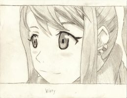 Winry Rockbell by awhite92