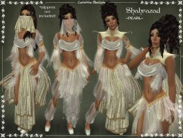 Shahrazad Outfit -PEARL- by Elvina-Ewing