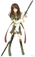 RWBY OC: Yue Arlens (UPDATED) by Awesomeness02